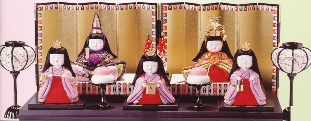木目込人形キット 手作り キット 「立ちひな・2号」 桃の節句 H302-02 東芸 雛人形